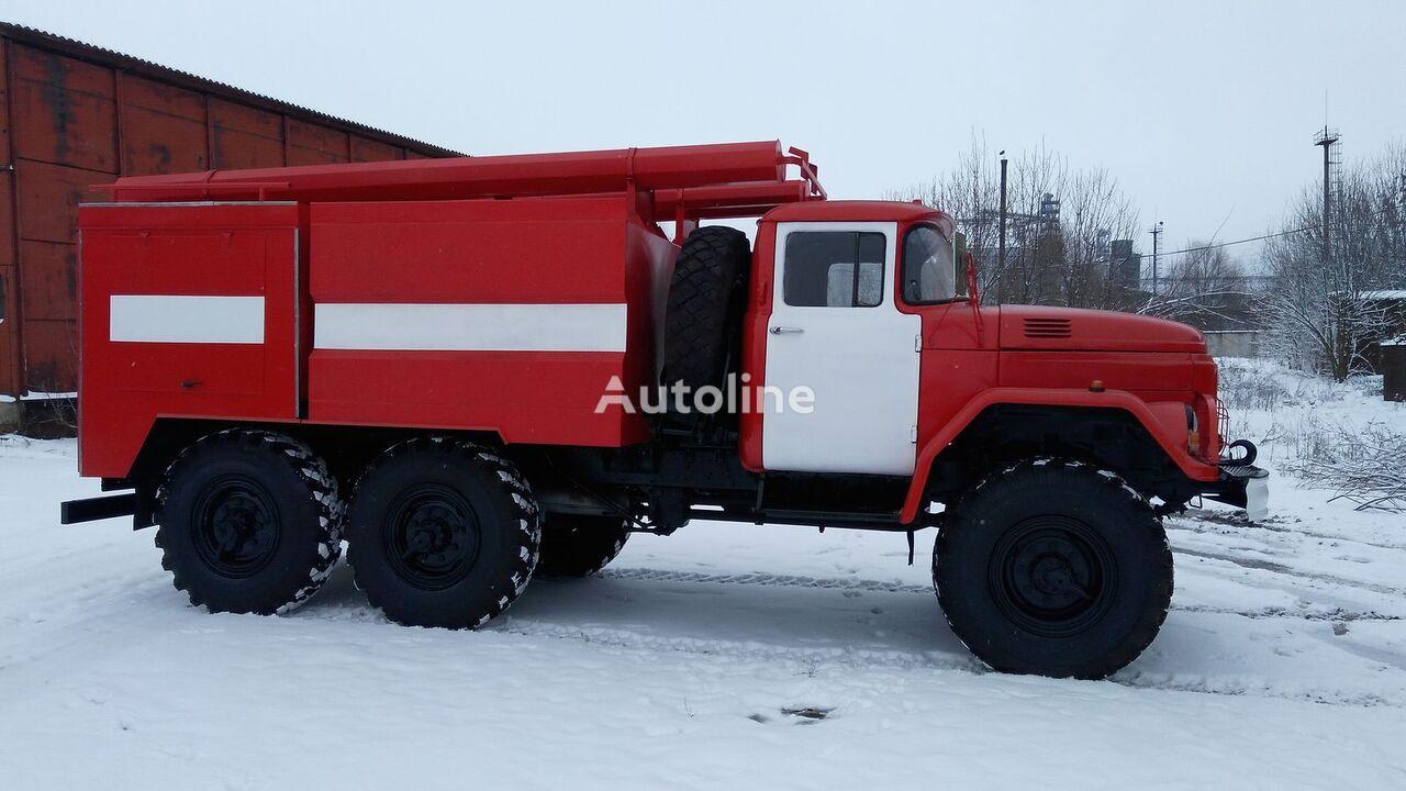 нов пожарна кола ЗИЛ 131