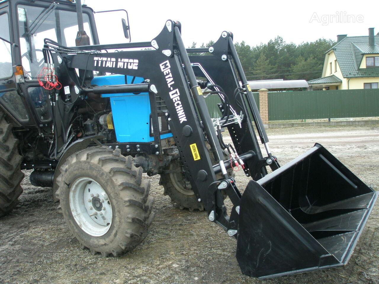 нов челен товарач за трактор METAL-TECHNIK