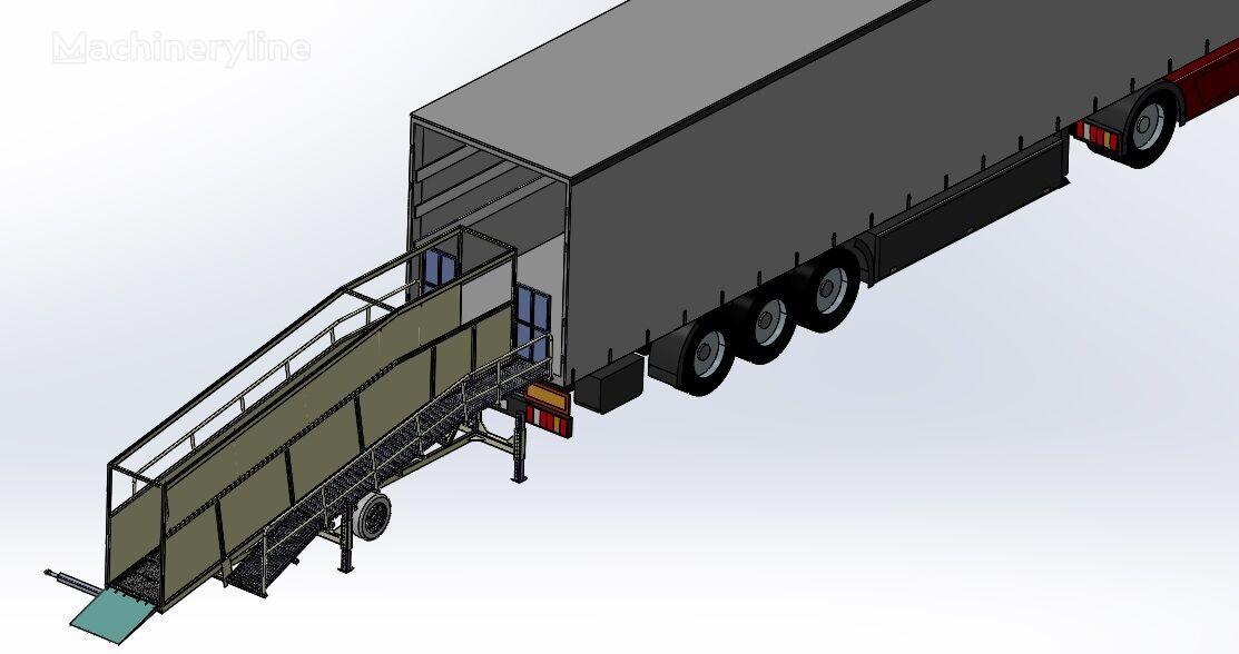 нов мобилна рампа SAURUS Cattle Loading Ramp