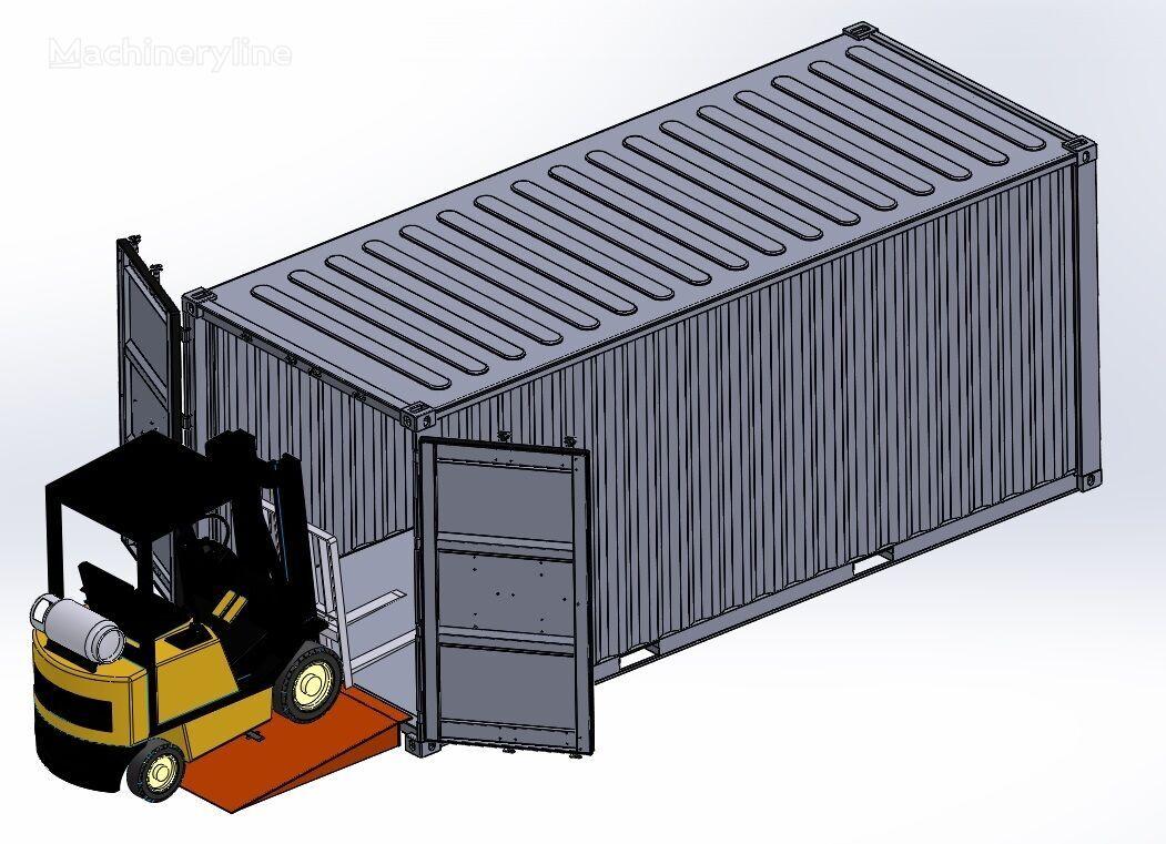 нов мобилна рампа SAURUS Container Loading Ramp
