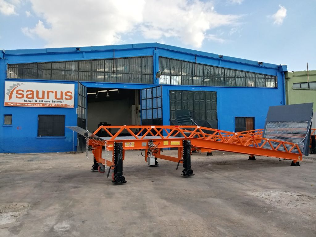 нов мобилна рампа SAURUS MOBILE LOADING RAMP