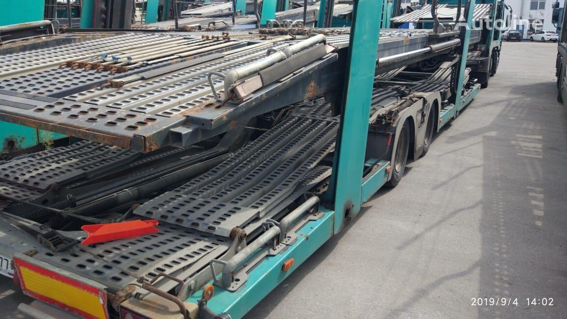 полуремарке автовоз LOHR Eurolohr 1.21 (galvanised frame)