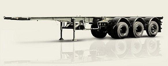 нов полуремарке контейнеровоз МАЗ 938920-011
