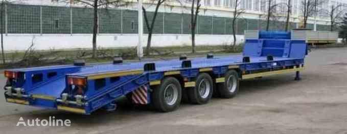 нов полуремарке ниска товарна площадка МАЗ 997700