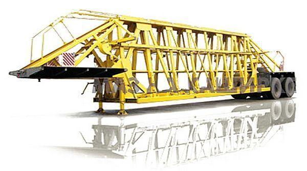 нов полуремарке ниска товарна площадка МАЗ 998500