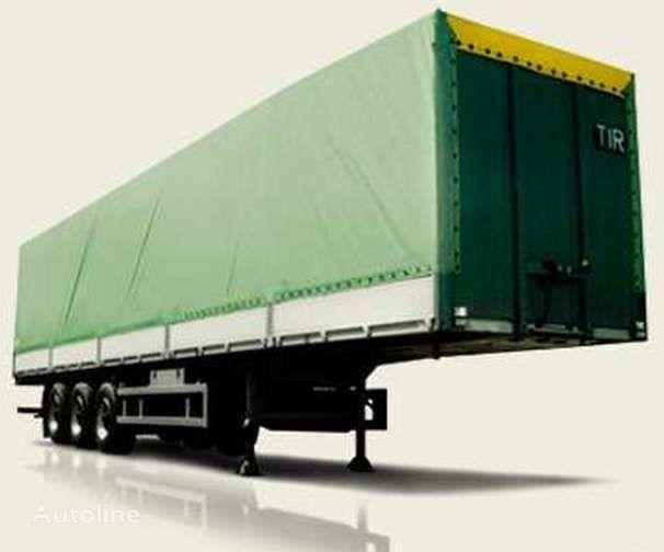 нов полуремарке платформа МАЗ 975800