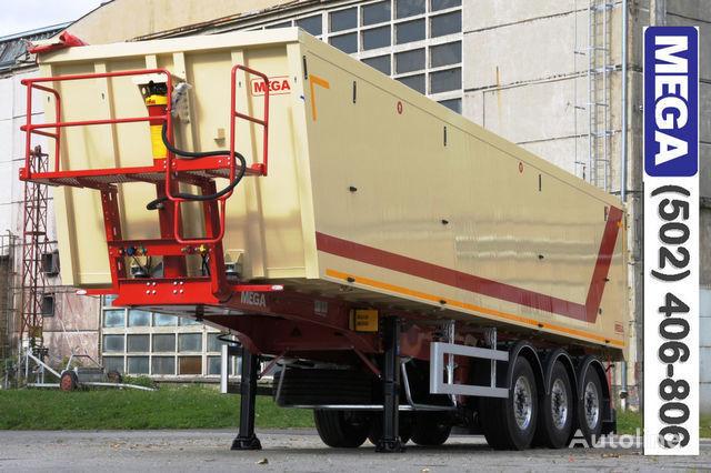 полуремарке самосвал KARGOMIL 45 m³ CAMOCVAL Алюминиевый кузов дверь ! -готов- !