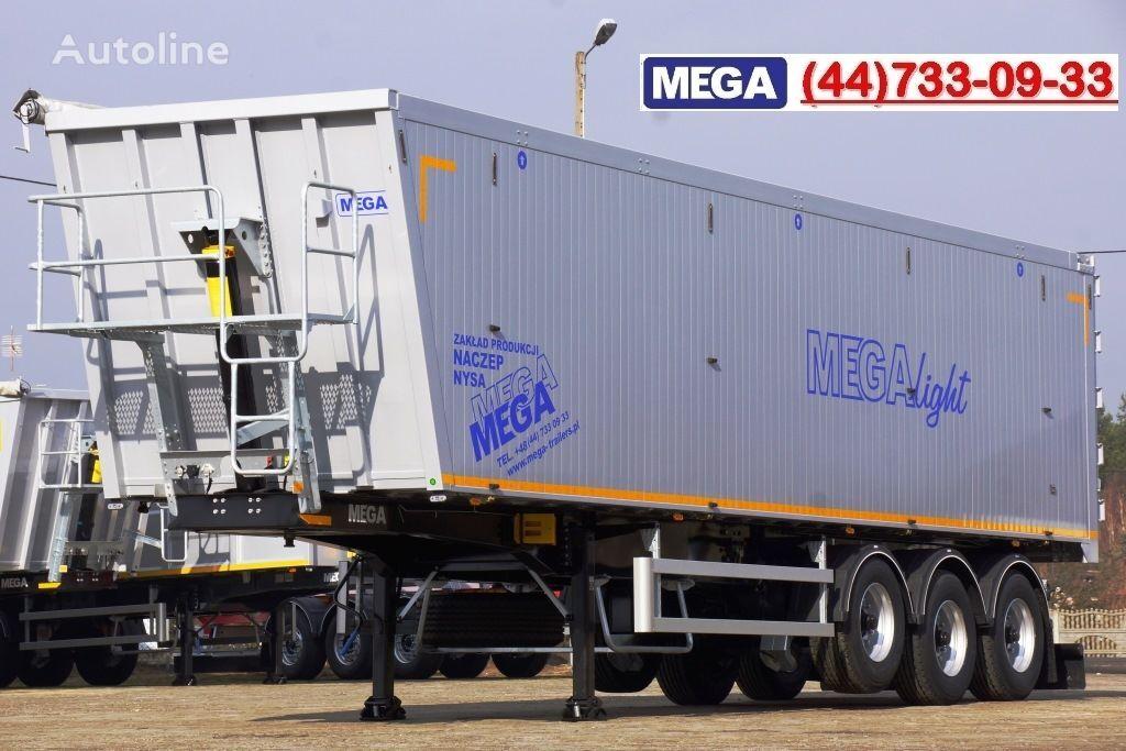 нов полуремарке самосвал MEGA 10,4 m / 55 M³ ALUM TIPPER