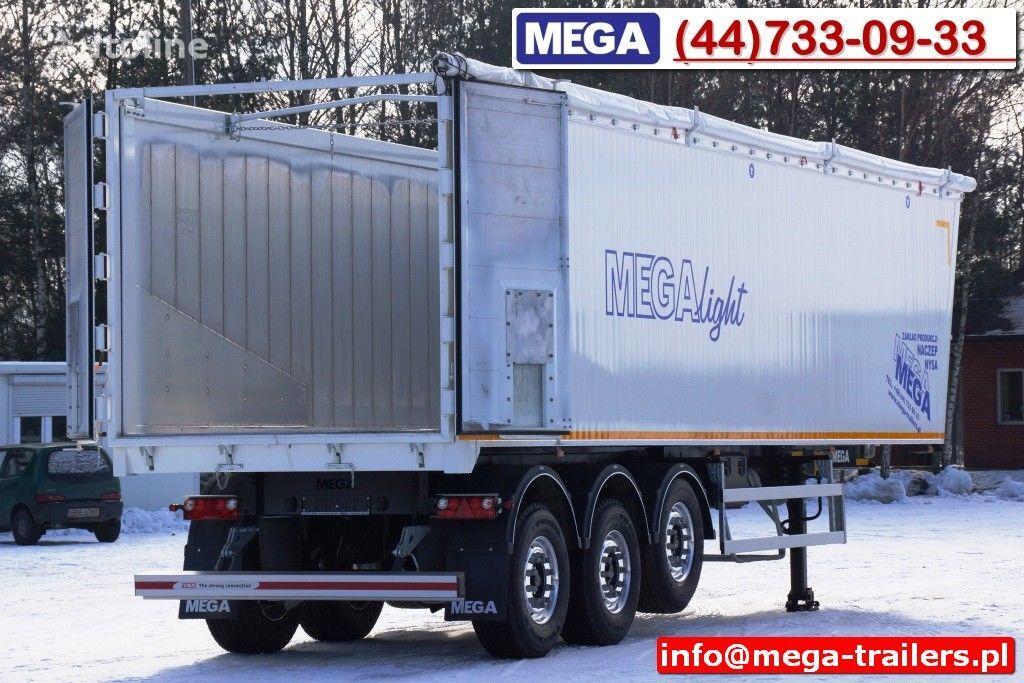 нов полуремарке самосвал MEGA 10,4 m / 60 M³ ALUM TIPPER SUPER LIGHT 6,2 T ! READY & NEW !