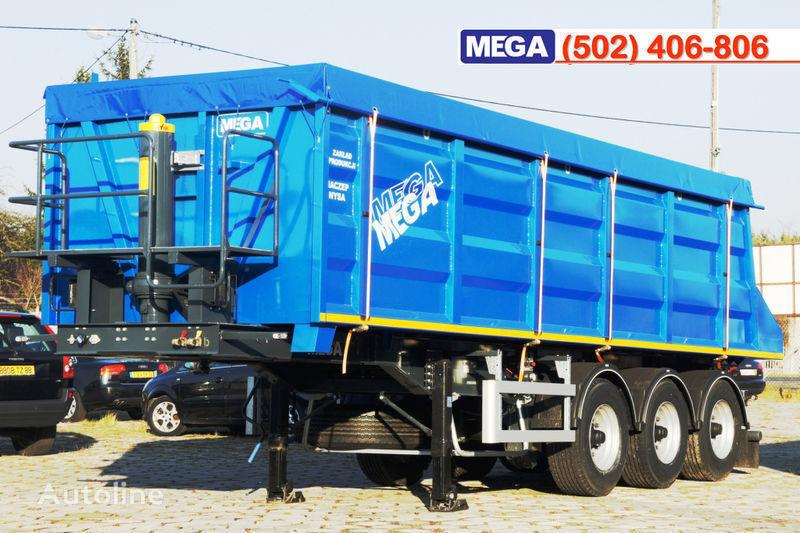 нов полуремарке самосвал MEGA 35/9200 кcc - cамосвал 35 куб.м., paмa к тягачу 6x4, клапан!