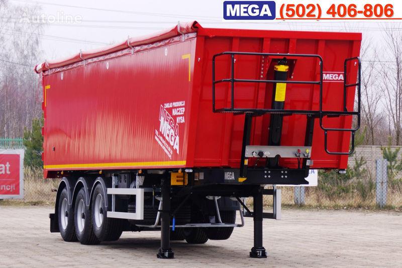 полуремарке самосвал MEGA 45 m³ - alum. tipper SUPER-LIGHT - 5,300 KG & hatch door - READY