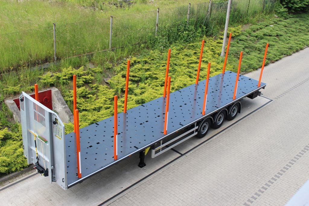 нов полуремарке транспорт на дървесина ZASŁAW TRAILIS 651.NL.13.PK[without stakes]