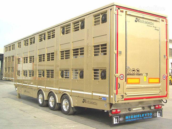 нов полуремарке за превоз на животни MICHIELETTO