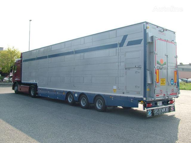 нов полуремарке за превоз на животни PEZZAIOLI SBA31  3+3 этажа загрузки