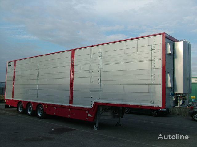 нов полуремарке за превоз на животни PEZZAIOLI SBA32 3+3 этажа загрузки