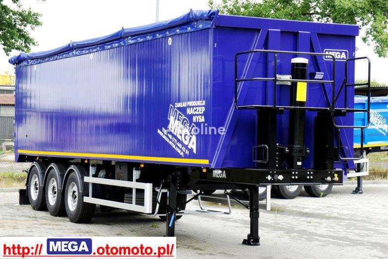 нов полуремарке за превоз на зърно MEGA 55/11300 KD