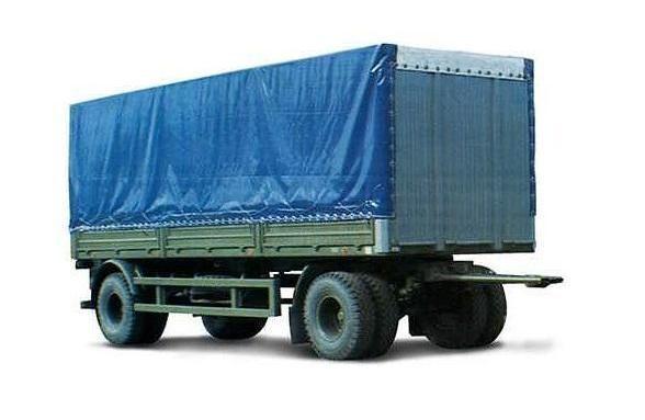 нов ремарке брезент МАЗ 837810-014