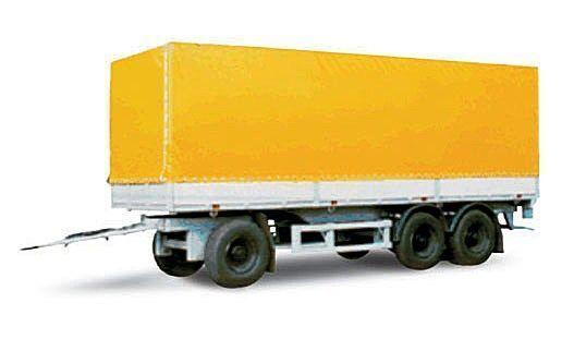 нов ремарке брезент МАЗ 870100-3010