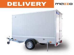 нов ремарке за кола F752413D 2.48x1.35x1.5m gvw 750kg! Box trailer