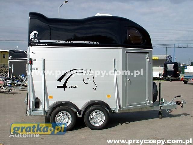 ново ремарке за превоз на коне CHEVAL LIBERTE DEBON CHEVAL LIBERTE Cheval Liberte GOLD Aluminium z siodlarnią