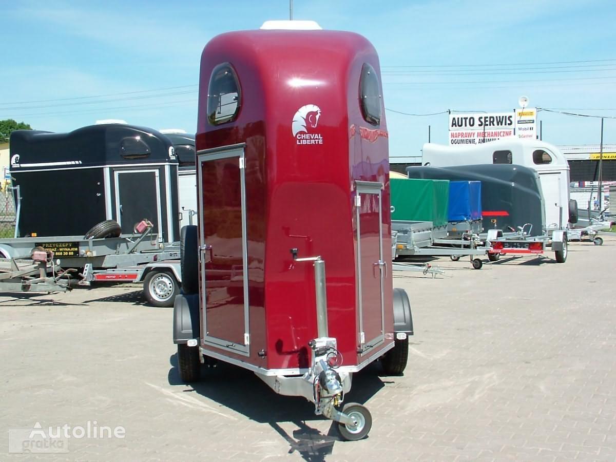ново ремарке за превоз на коне CHEVAL LIBERTE Przyczepa Aluminiowa Przyczepa jednokonna model Gold One