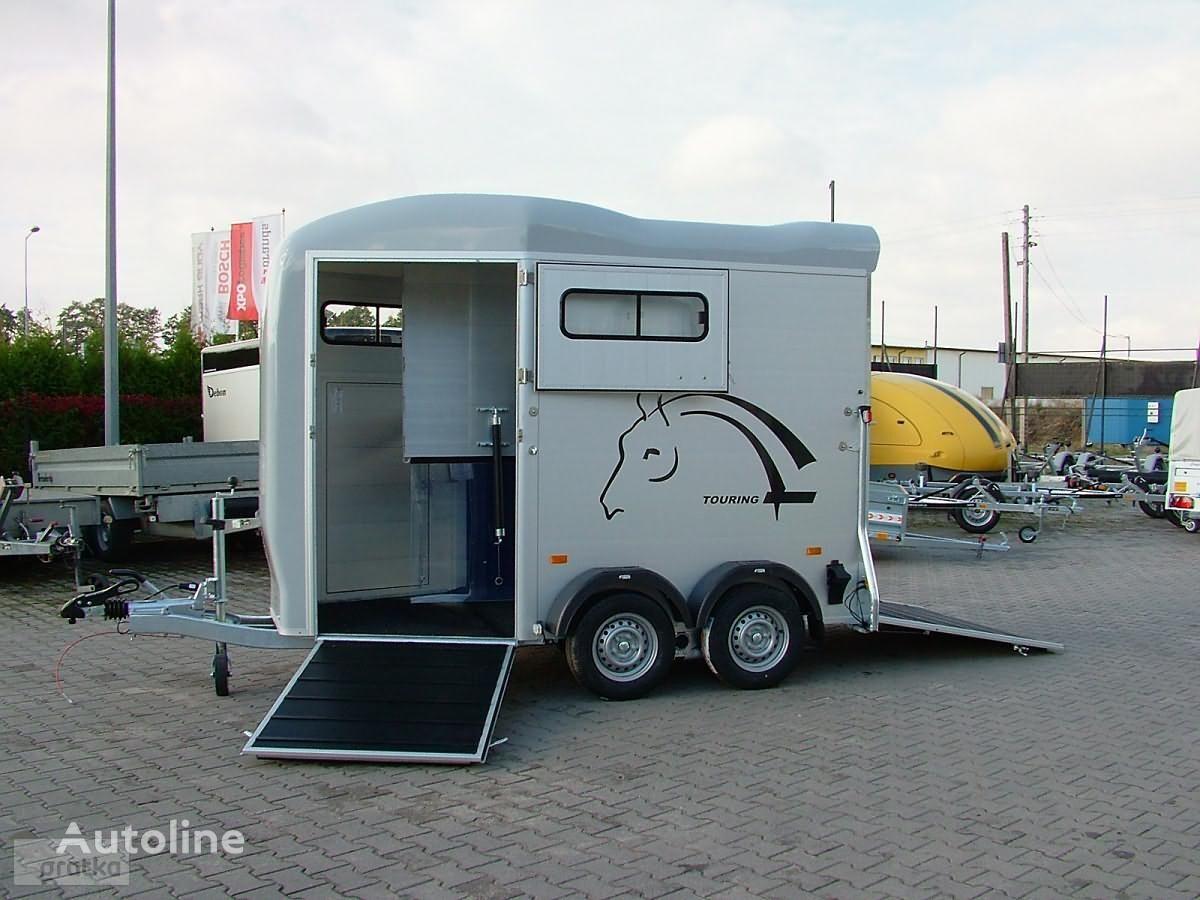 ново ремарке за превоз на коне CHEVAL LIBERTE Przyczepa Dwukonna Przyczepa Aluminiowa marki Debon model Gold T