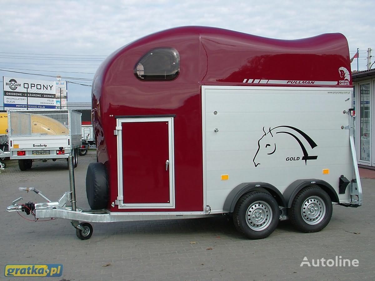 ново ремарке за превоз на коне CHEVAL LIBERTE Przyczepa dwukonna Przyczepa aluminiowa model GOLD TWO