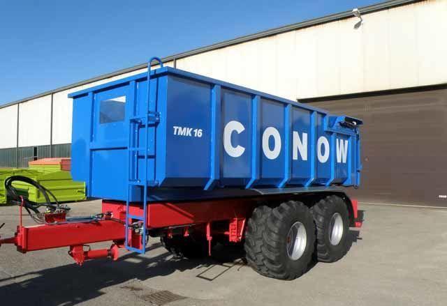 нов ремарке за превоз на зърно CONOW Tandem-Dreiseitenkipper (TMK 16)