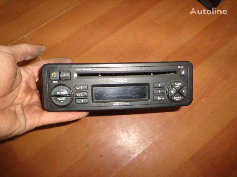 авторадио  VDO CD413. 12V. CD. за камион