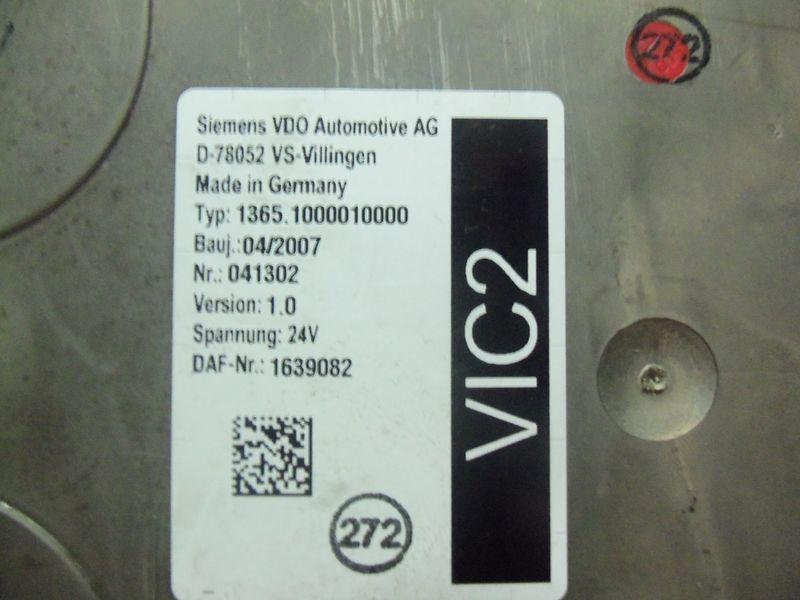 блок за управление  DAF VIC2 electronic control unit 1639082 за влекач DAF 105XF