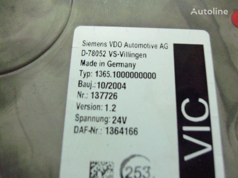 блок за управление  DAF 95XF Euro3 electronic unit, VIC1, 1364166 за влекач DAF 95XF