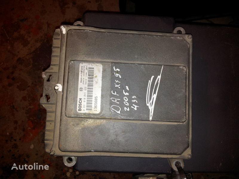 блок за управление  DAF 95XF, 85LF, 75LF, EURO3 ECU EDC engine control BOSH 0281010045; 1365685, 1684367, 1679021 за влекач DAF 95XF