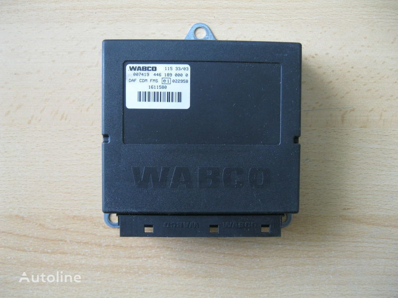 блок за управление  STEROWNIK ECAS за влекач DAF XF 95