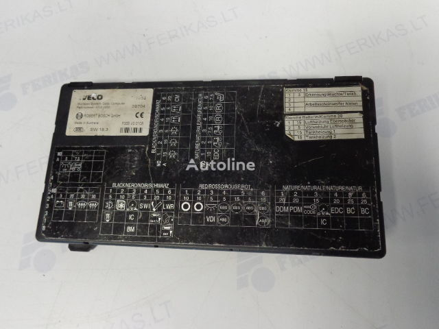 блок за управление  ROBERT BOSCH Body Computer control unit   41221000 (WORLDWIDE DELIVERY) за влекач IVECO