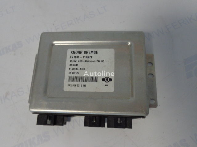 блок за управление  KNORR BREMSE ABS Elektronik 81259356728