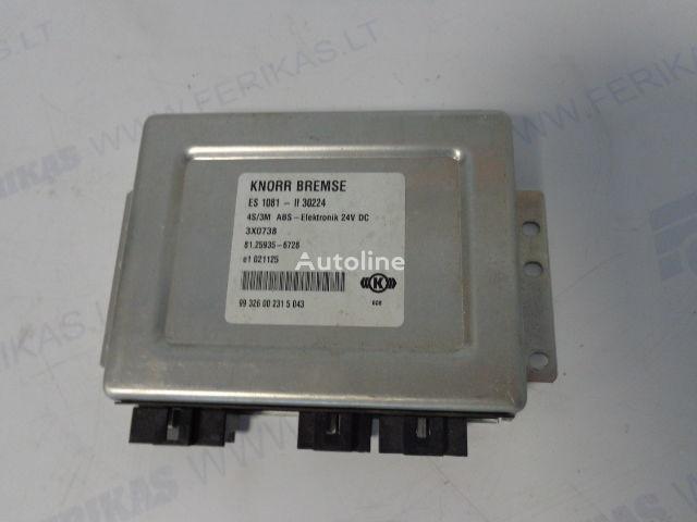 блок за управление MAN ABS Elektronik 81259356728