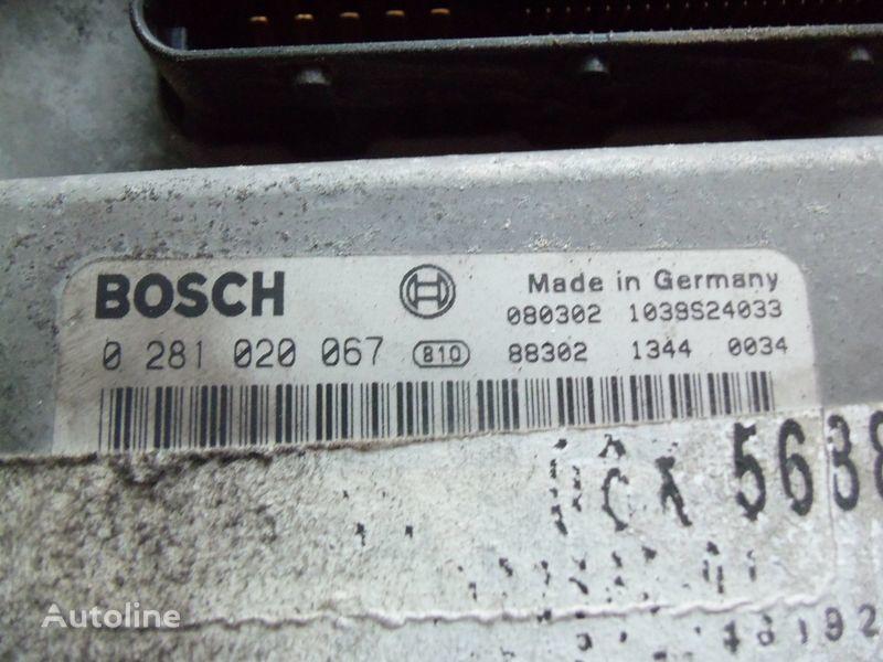 блок за управление MAN EDC 480PS D2676LF05 ECU BOSH 0281020067 EURO4, 51258037564, 5125 за влекач MAN TGX