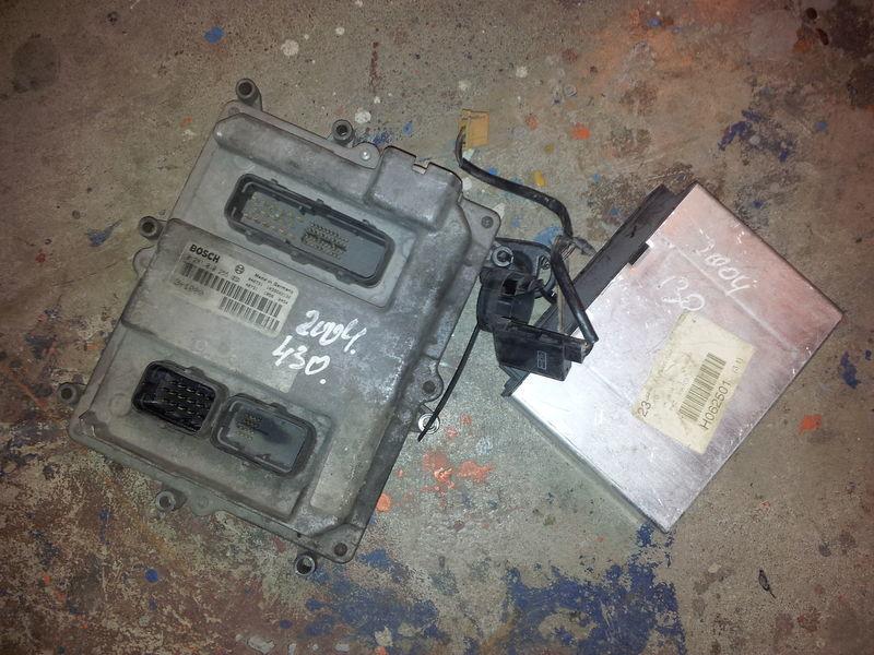блок за управление MAN EURO3, 430PS ignition set, EDC, ECU, BOSCH 0281010255 + FFR за влекач MAN TGA