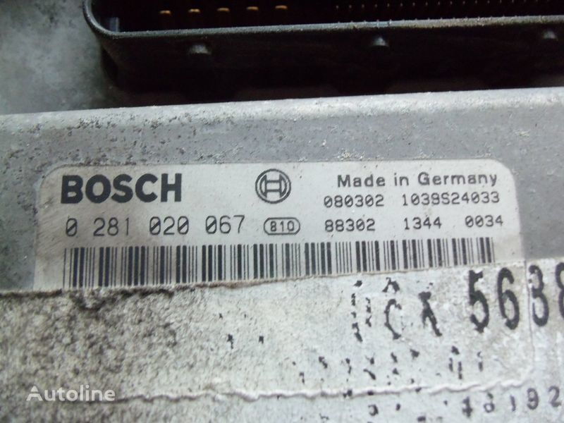 блок за управление  MAN EDC 480PS D2676LF05 ECU BOSH 0281020067 EURO4, 51258037564, 51258037778, 51258037832, 51258037990, 51258037674, 51258337008 за влекач MAN TGX