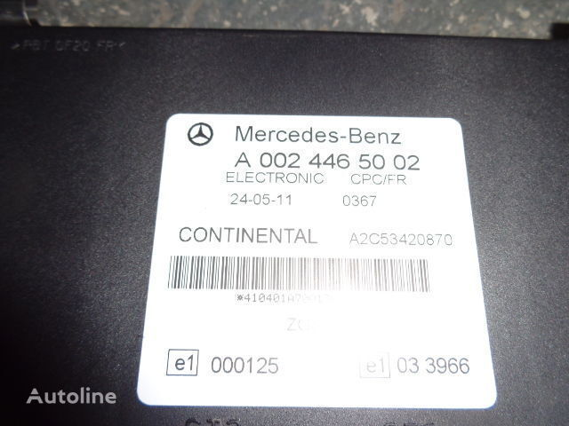 блок за управление  Mercedes Benz Actros MP3 FR unit ECU 0024465002, 0034464202, 0024463102, 0024463505, 0024464802, 0034464402, 0034465102, 0034465502, 0044460002 за влекач MERCEDES-BENZ Actros