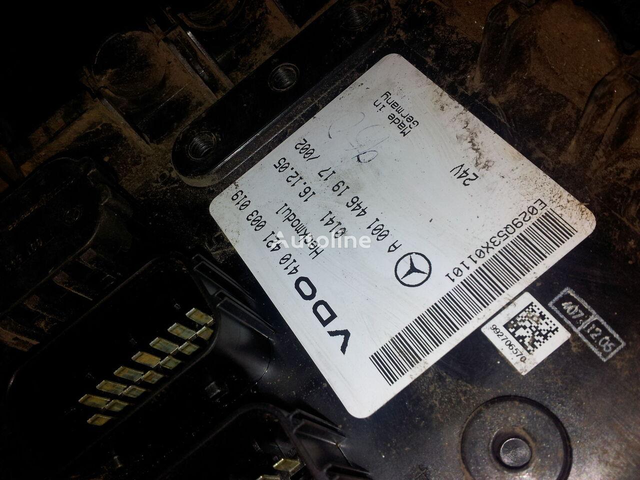 блок за управление  MB Actros MP2, MP3, Heckmodul, control unit, EDC, ECU, rear module electronics, 0014461917, 0014462817, 0014462017,0014461917,0014462717,0014461617, 41021003020, 410421003019, 0014462817 за влекач MERCEDES-BENZ Actros MP2; MP3