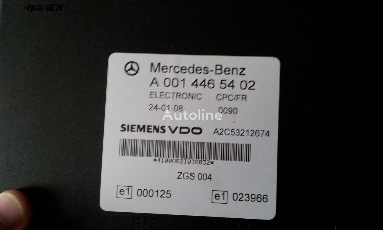 блок за управление MERCEDES-BENZ MP2 FR unit ECU 0014464102, 0014464102, 0004467502, 0014461002, за влекач MERCEDES-BENZ Actros