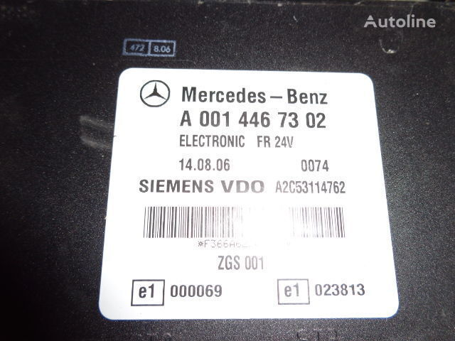 блок за управление MERCEDES-BENZ MP2, MP3, MP4, FR control unit ECU 0014467302, 0014467302 за влекач MERCEDES-BENZ Actros
