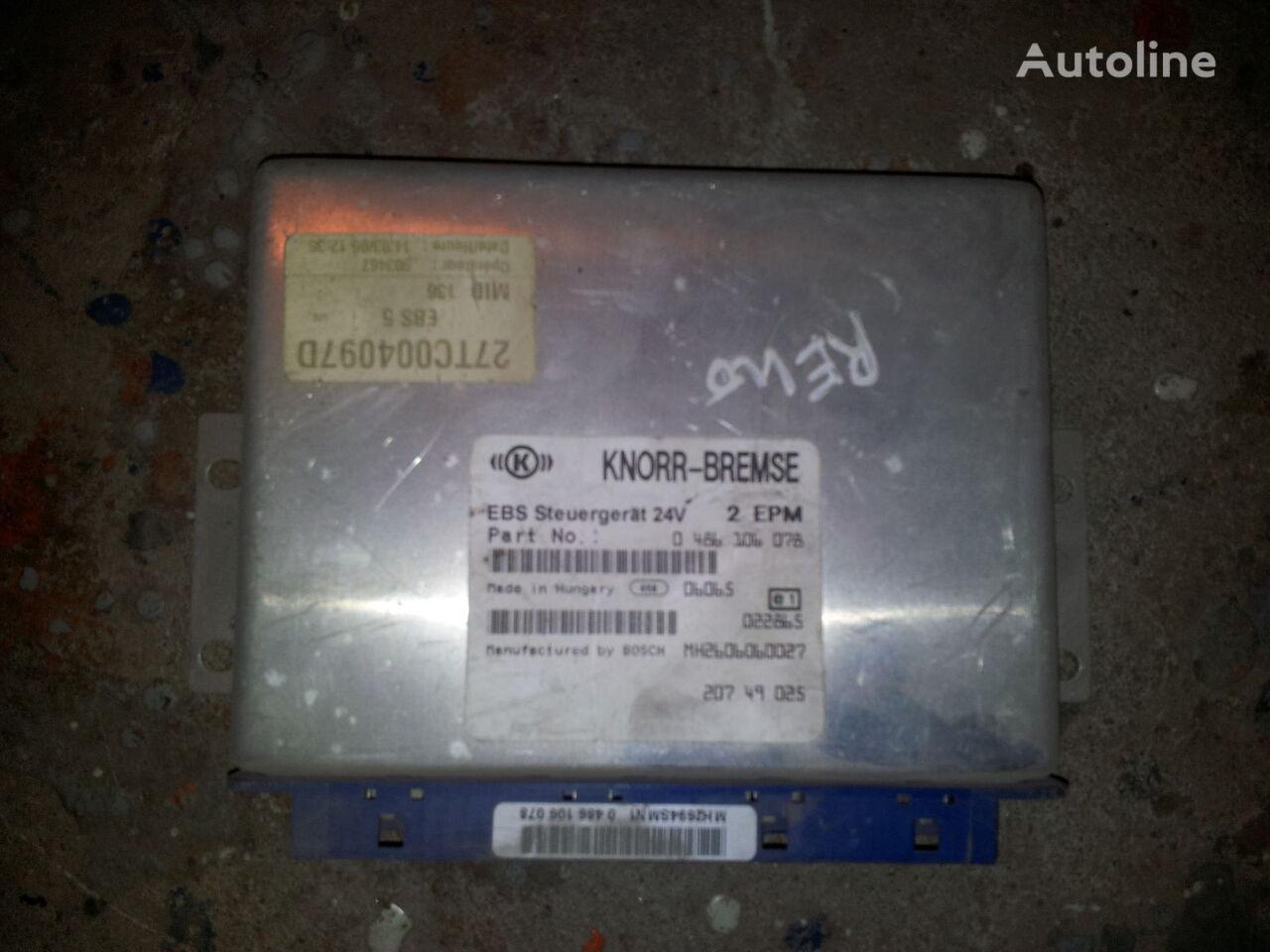 блок за управление  Renault DXI MAGNUM, PREMIUM EBS Control unit 20749025, 20895573, 0486106078, 0486106085, 20895576, 85110026, 85129471, 85110025, 20895573 за влекач RENAULT Magnum DXI