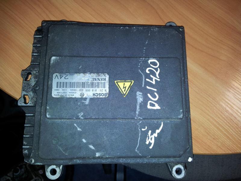 блок за управление  Renault Premium DCI engine control unit, ECU, EDC, 5010550351, BOSCH 0281010966 за влекач RENAULT Premium DCI 420PS