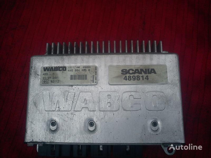 блок за управление  Wabco C3-4S/M 4460040850 . 4480030790. 4460030510. 4460040540 за камион SCANIA