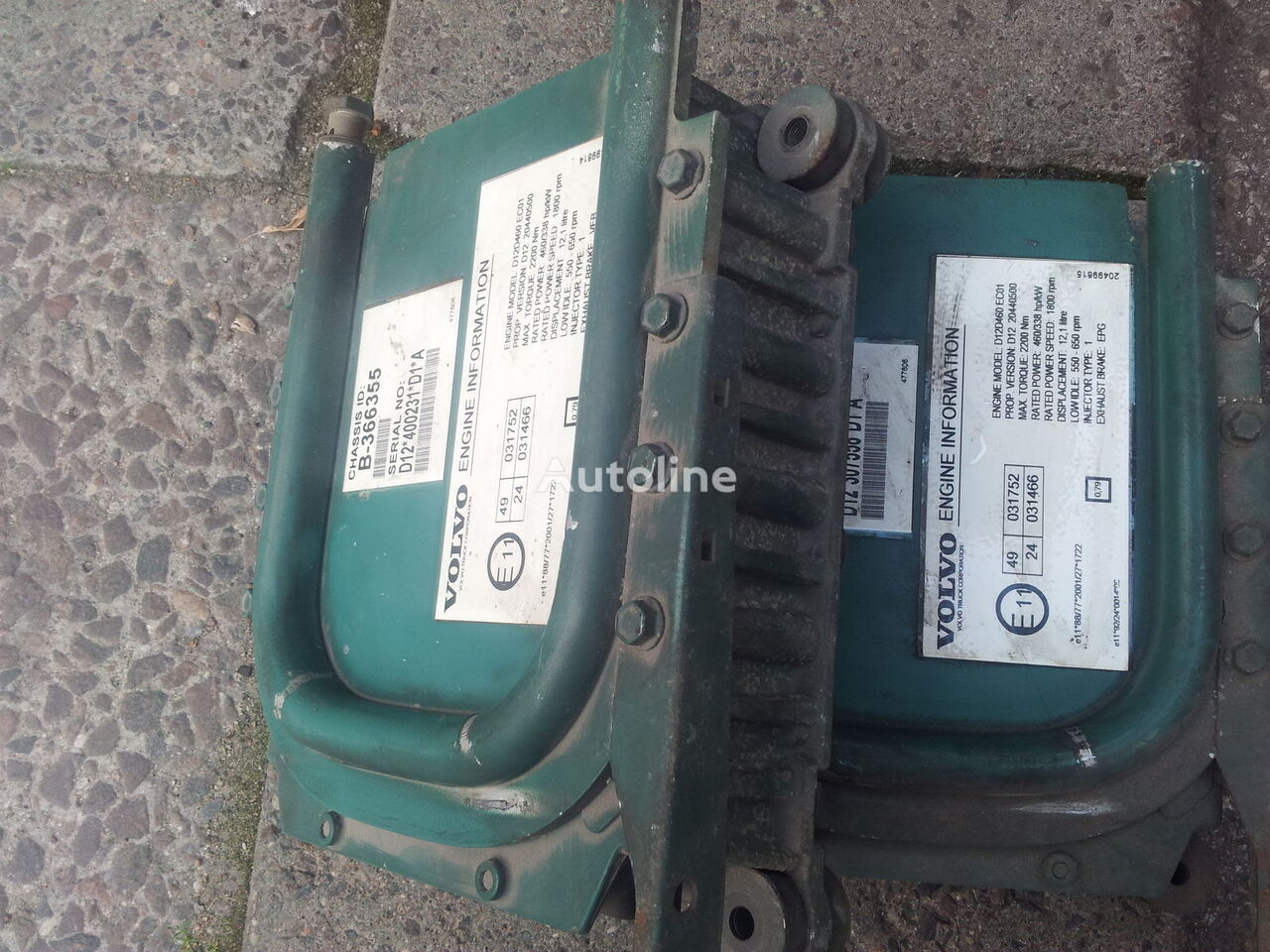блок за управление VOLVO , EURO3 D12D, EDC, ECU, D12D420, D12D460, D12D380, engine co за влекач VOLVO FH12