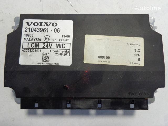 блок за управление VOLVO LCM light control units 21043961, 20744283,20427169,20514900,207 за влекач VOLVO FH
