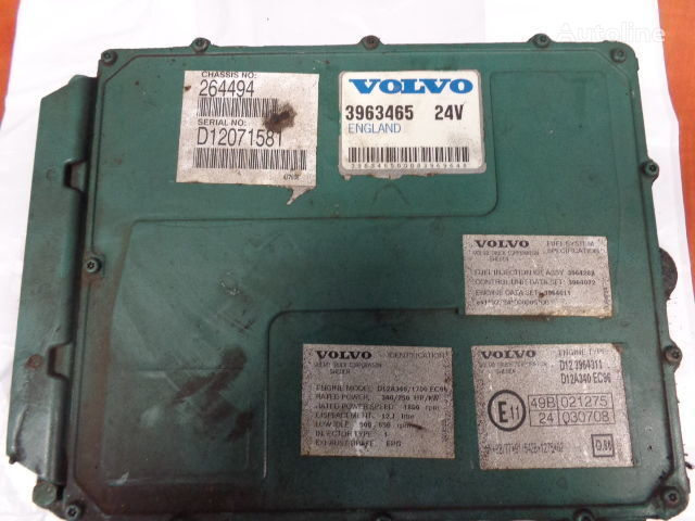 блок за управление VOLVO engine control unit ECU, EDC, D12A340, 250KW, 340PS, 396346 за влекач VOLVO FH12