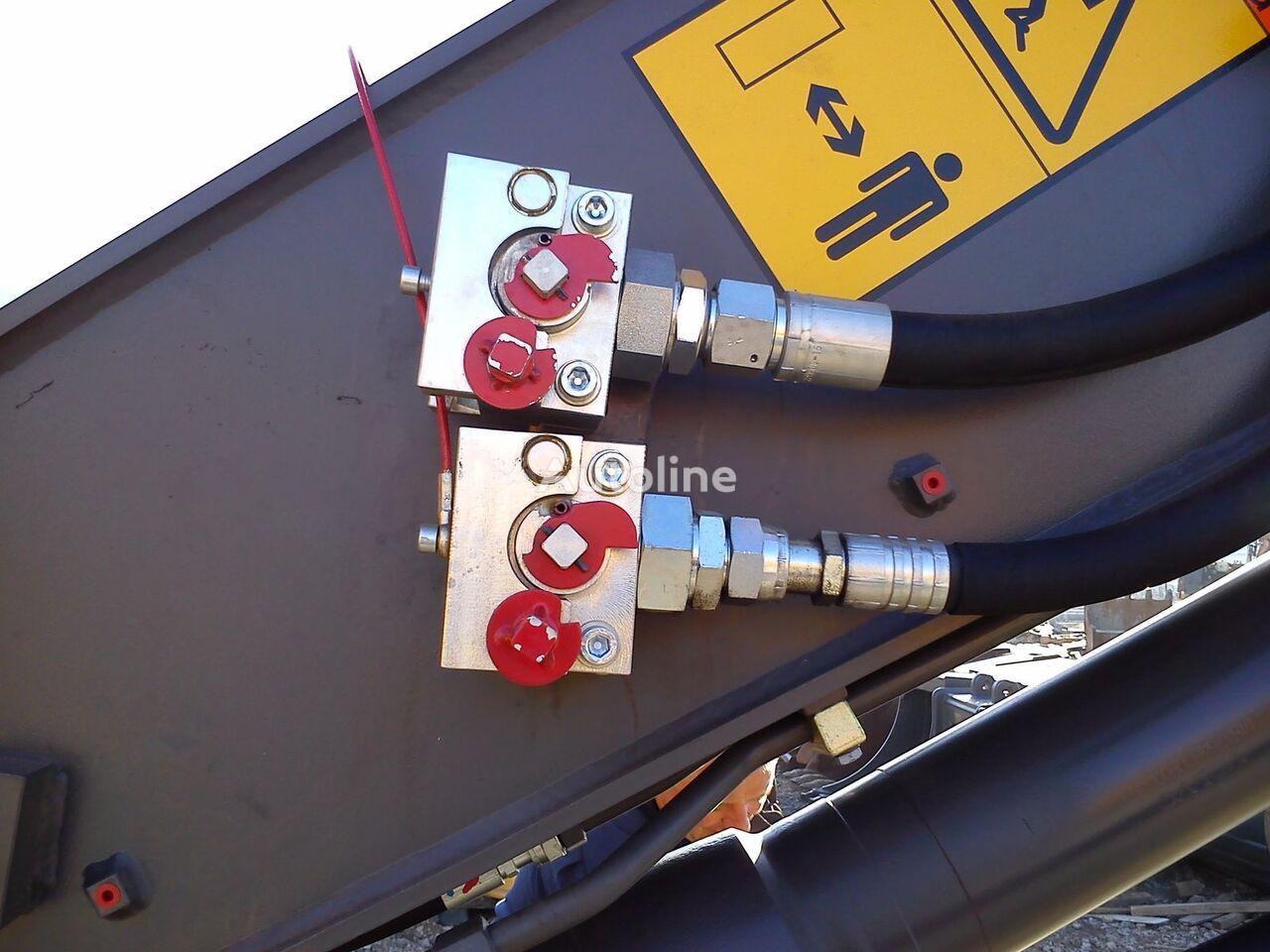 нов бързосменник  Balavto coupler B-Quick for hydraulic hoses